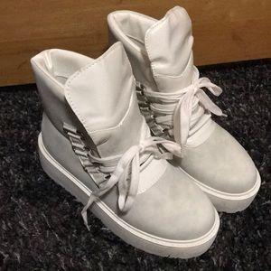Nasty Gal Snowed In Platform Boot